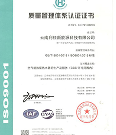 ISO9001管理体系认证中文版