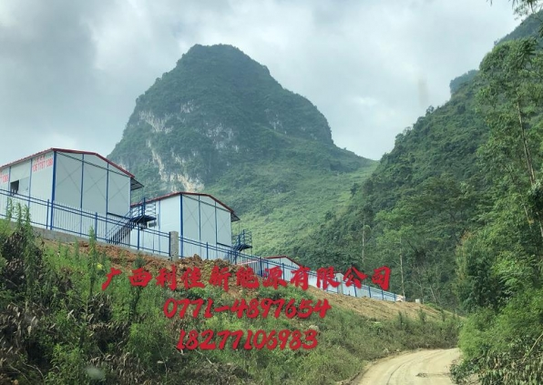 广西路桥 贺巴高速 大化项目部工地宿舍热水器