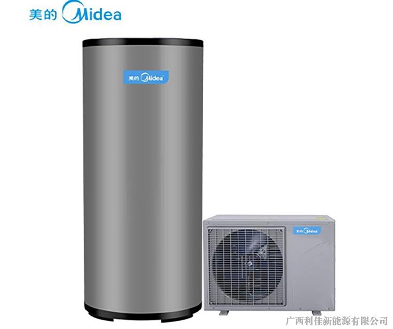 Midea_美的 空气能家用热水器 300L 空气源热泵 70度高温 全国适用 别墅专用